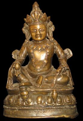 13th century, Tibet, copper alloy, private collection on Himalayan Art Resources.