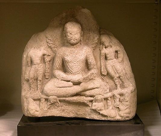 7th-8th century, Swat Valley, Shakyamuni, stone, at the Metropolitan Museum of Art (USA).
