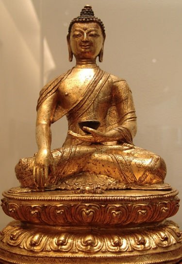 Same as before, gilt copper, at Musée Guimet in Paris (France).