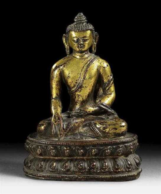 Same as before, gilt copper alloy, private collection, photo by Koller.